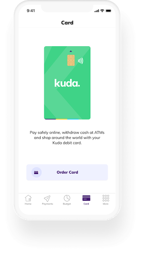 Order your ATM card