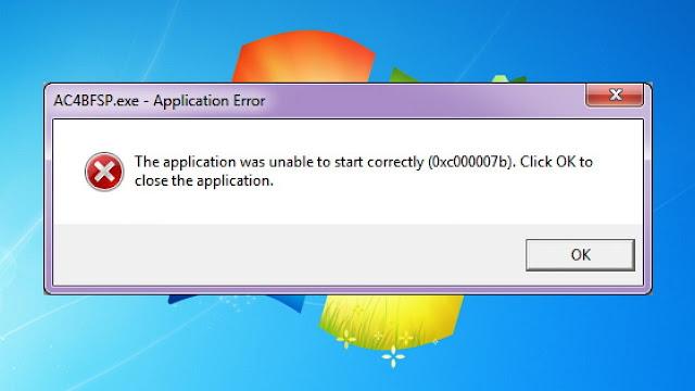Cara Memperbaiki Error 0xc00007b Pada Laptop dan Komputer