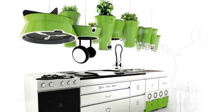 Una experimental cocina de dise o ecol gico cocinas con for Diseno de cocina francesa