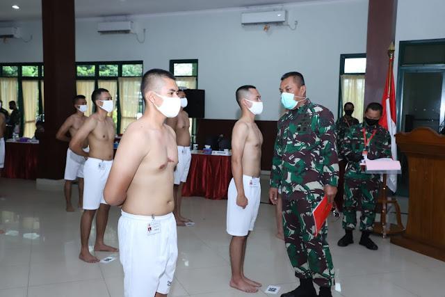 Kasum TNI Pimpin Sidang Pantukhir Penerimaan Perwira Khusus Tenaga Kesehatan