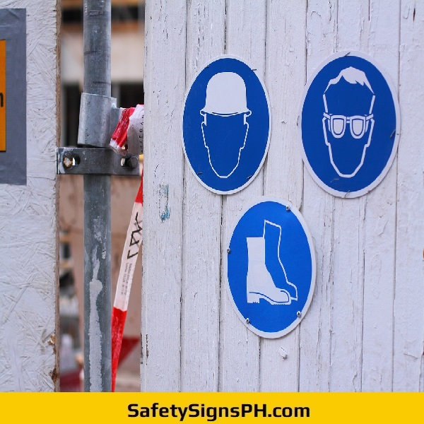 Construction PPE Safety Signs Philippines