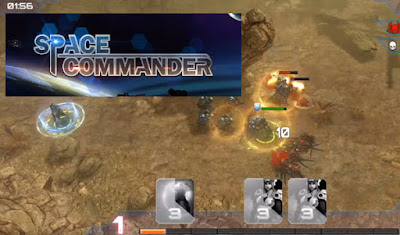 Space Commander game online smartphone android