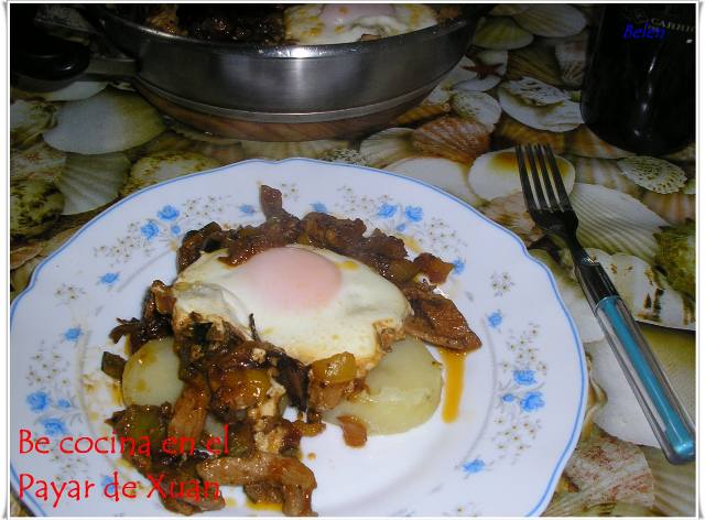 Fritada De Verduras Con Magro Y Huevos
