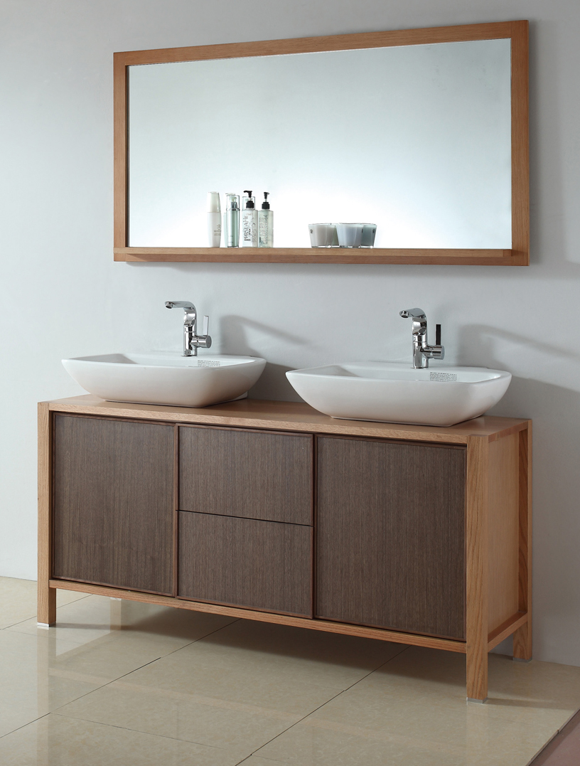 Antique bathroom vanities july 2012 for Modern contemporary bathroom vanities