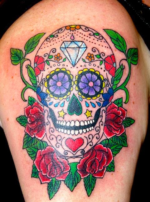 Tattoo Symbolism Sugar Skull Tattoo Symbolism