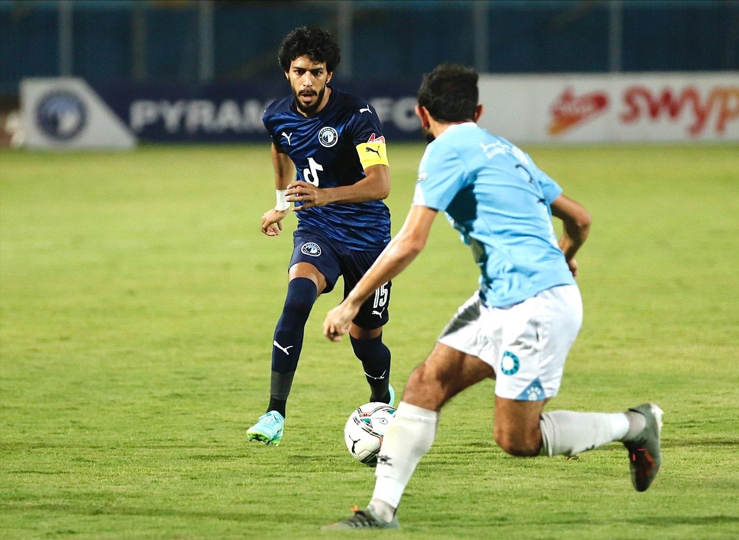 ملخص وأهداف مباراة بيراميدز ضد غزل المحلة في الدوري المصري