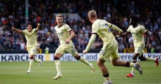 واصل أرسنال الفوز وتغلب على بيرنلي بهدف في الدوري الإنجليزي
