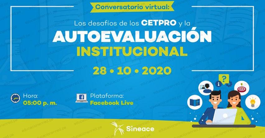 SINEACE: Tres Cetpros compartirán los aprendizajes de la Autoevaluación Institucional - www.sineace.gob.pe