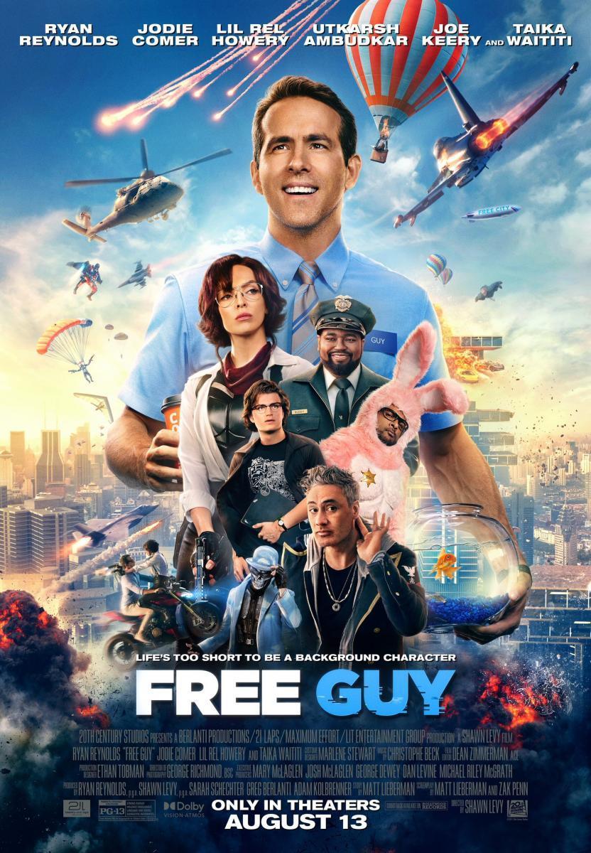 Download Free Guy (2021) Full Movie in Hindi Dual Audio BluRay 720p [800MB]
