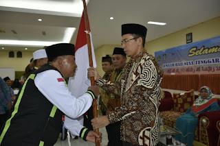 Gubernur Lepas JH NTB, Baiq Mariah Jemaah Tertua Usia 104 Tahun