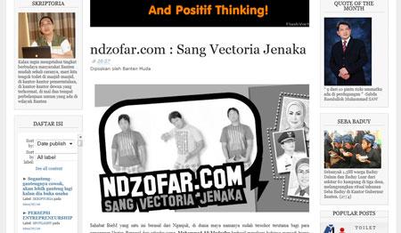 screenshot BantenMuda.com