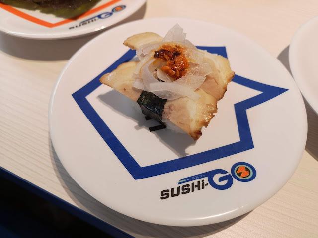 Spicy Onion Chashu Sushi