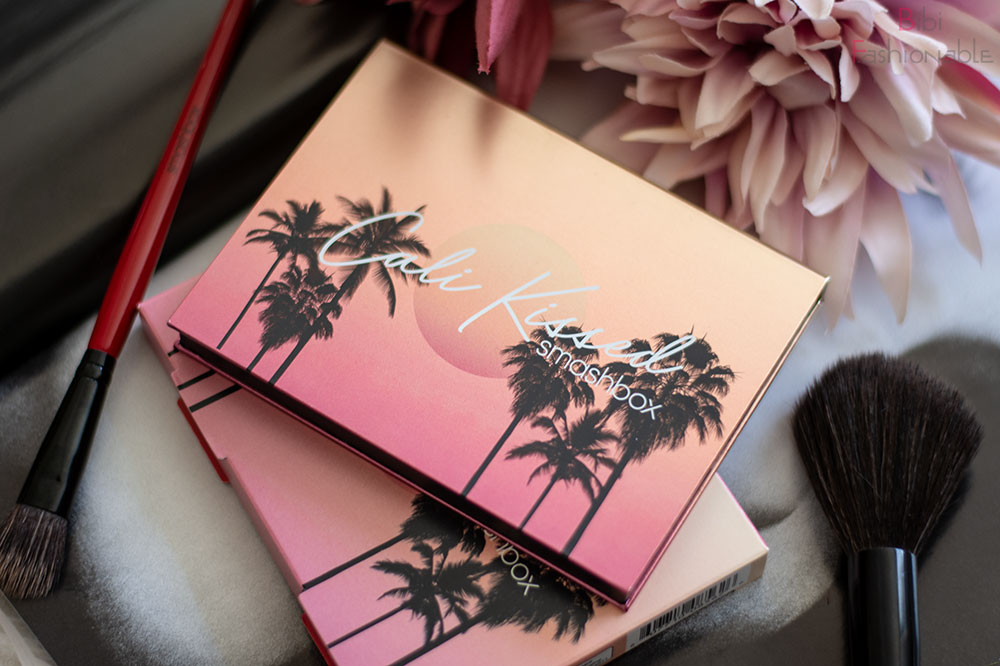 Smashbox Cali Kissed Highlight und Blush Palette Umverpackung