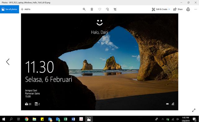Windows Hello ASUS Vivobook Ultra A412DA