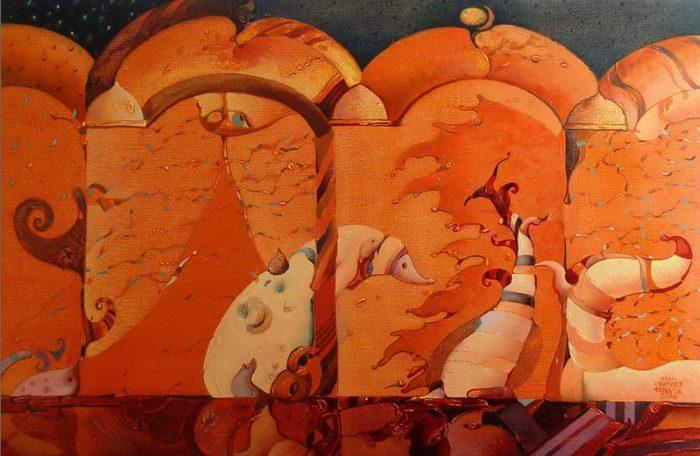 Фигуративные картины. Ivan Stratiev 3