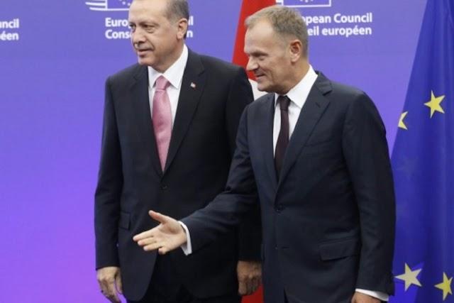 """3 δις απαιτεί ο Ερντογάν από τους Ευρωπαίους για να σταματίσει τις """"ροές μεταναστών"""""""