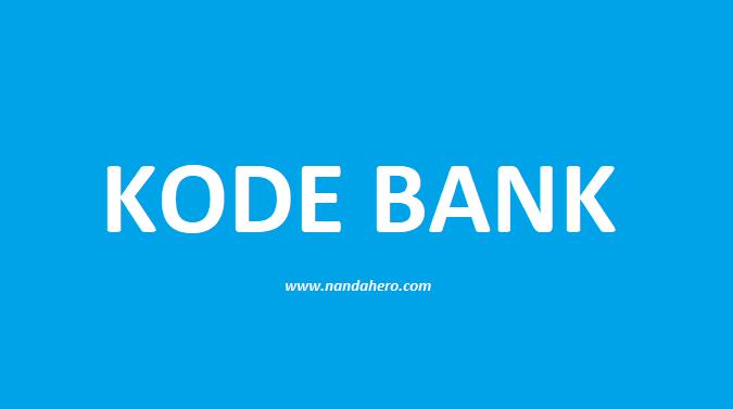 kode bank indonesia lengkap terbaru 2020