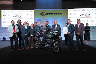 JK Tyre give ICOTY and IMOTY 2020 award