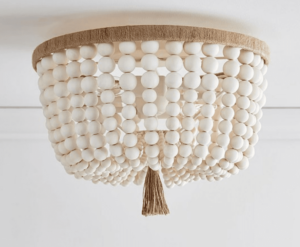 How to Make Your Own Beaded Chandelier