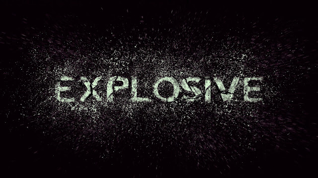 Create an Exploding Text Effect in Photoshop