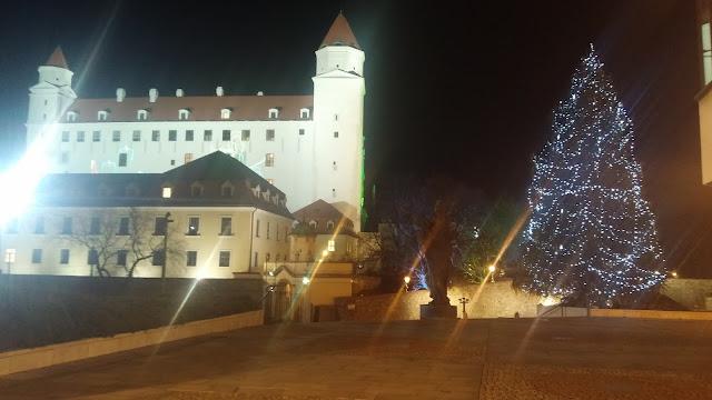 Christmas time in Bratislava