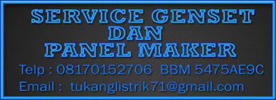 SERVICE GENSET AREA DADAP TANGERANG
