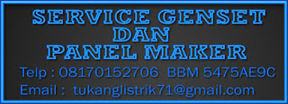 SERVICE GENSET
