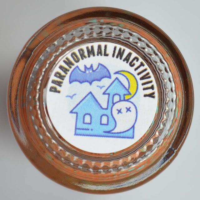 haunted house bottle label