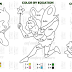 Math Worksheets (Color by Equation)