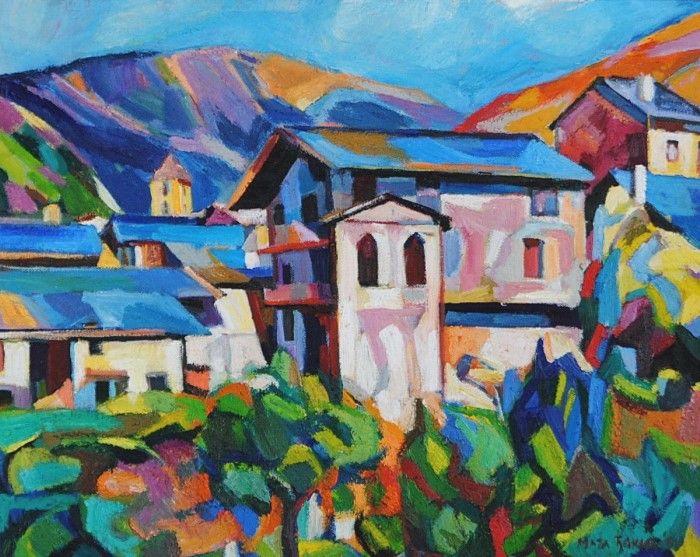 Сербский художник. Maja Dokic Mihajlovic