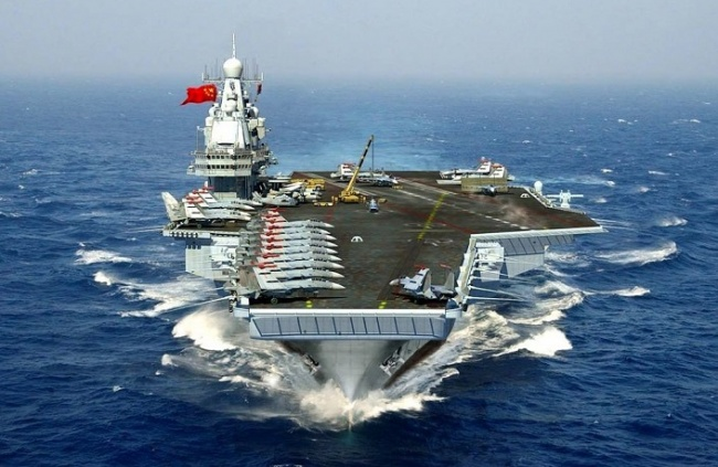Китайський військовий флот став другим у світі