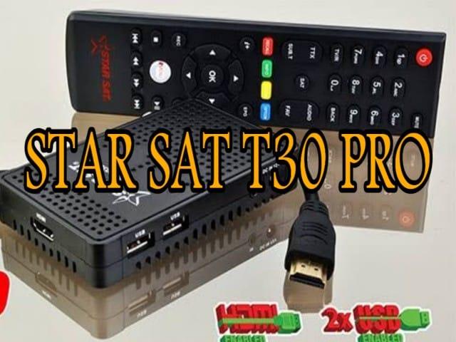 اخر تحديث جهاز ستارسات STARSAT-T30 PRO اصدار 123