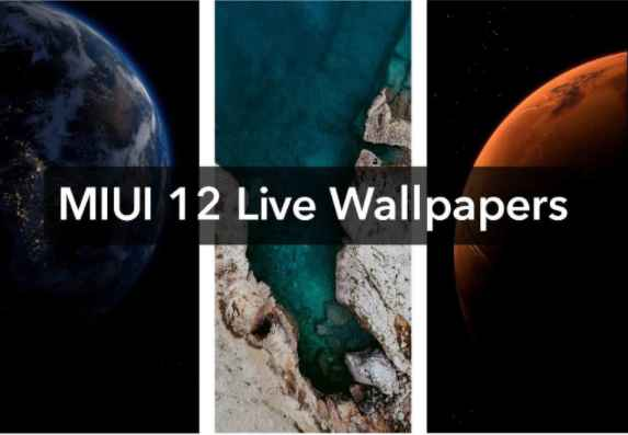 Live MIUI 12 Stock  Full HD Wallpapers