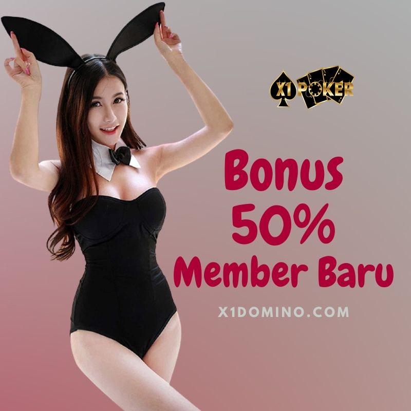 Bonus new mmber 50