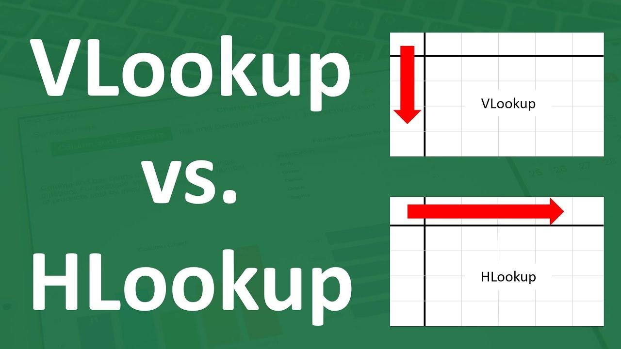 Rumus Excel Mengambil Data dari Tabel (VLOOKUP, HLOOKUP)