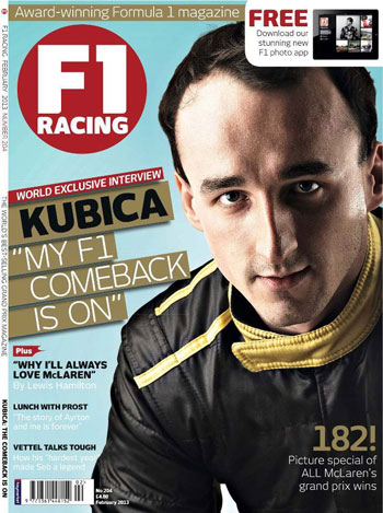 MY F1 COMEBACK IS ON