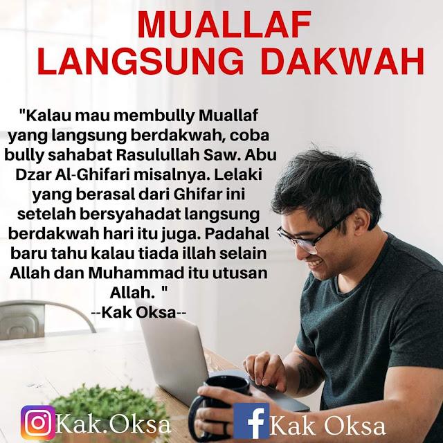 Muallaf Langsung Dakwah