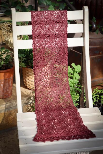 Lace Knit Scarf