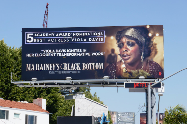 Viola Davis Ma Raineys Black Bottom Oscar nominee billboard