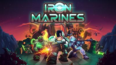 لعبة المارينز الحديدي Iron Marines مدفوعة مهكرة آخر إصدار للأندرويد