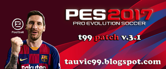 PES 2017 T99 Patch v.3.1 For PC