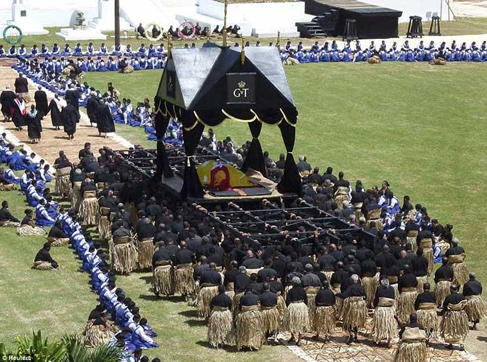 Pemakaman Raja Tonga