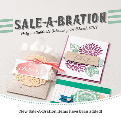 New Sale-a-Bration Products Available Here today
