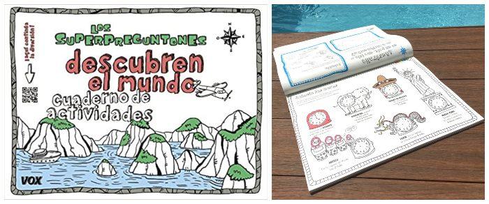 libro actividades cuaderno superpreguntones descubren el mundo