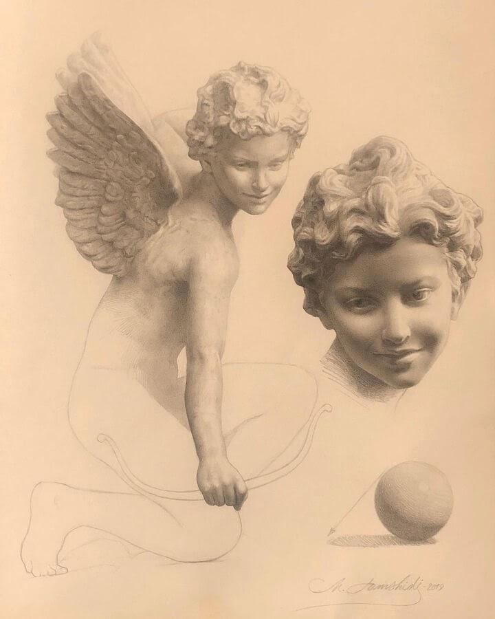 03-Cupid-drawing-study-Mehrdad-Jamshidi-www-designstack-co
