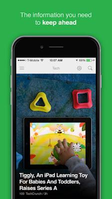 تطبيق مجاني للحصول علي أخر الأخبار والمواضيع من المواقع المختلفة للآيفون والآيباد Feedly - your work newsfeed iOS