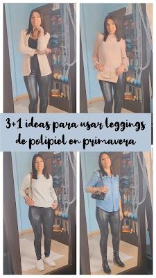 3 + 1 ideas para combinar unos leggins de polipiel