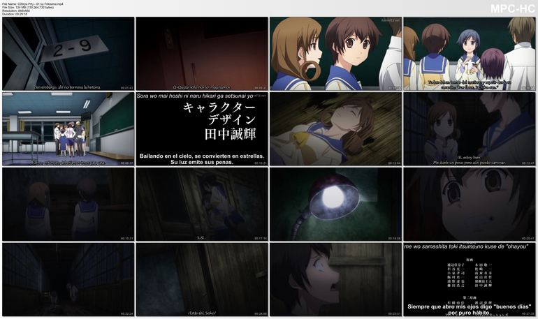Capturas de Corpse Party Tortured Souls