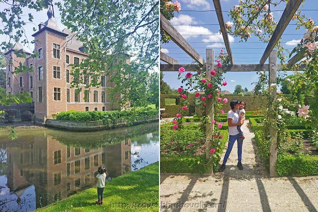 Castle Coloma Rozentuin Rose Garden