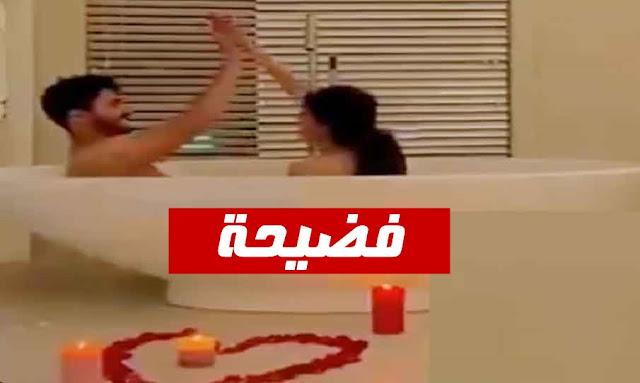 فضيحة  شاهد بعد استحمامها بالبانيو فوز العتيبي ترقص بالبطانيّة بدون ملابس fouz alotaibi